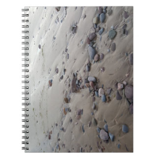 Pebbles on the Sand Notebook