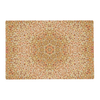 Pebbles Pattern  Placemat Laminated Placemat