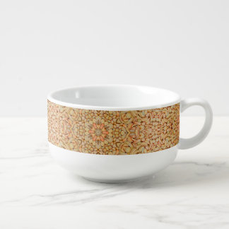 Pebbles Pattern  Soup Mug