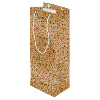 Pebbles Pattern Vintage Kaleidoscope  Wine Bags