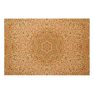Pebbles Pattern Wood Wall Art