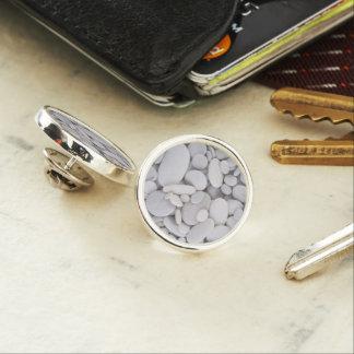 Pebbles, Rocks, Background Lapel Pin