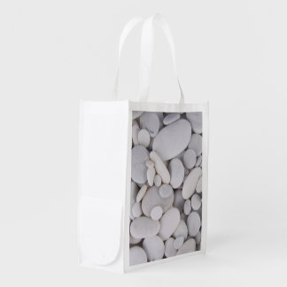 Pebbles, Rocks, Background Reusable Grocery Bag