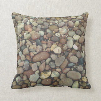 Pebbles Stones Photo Throw Cushion 41 cm x 41 cm