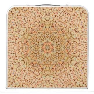 "Pebbles  Vintage Kaleidoscope 48""  Pong Table"