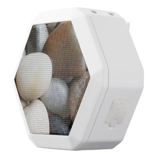 Pebbles White Bluetooth Speaker