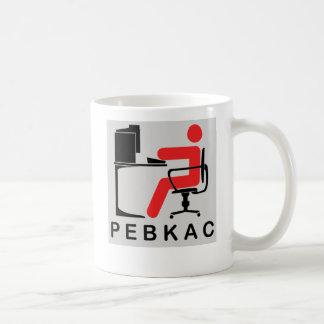 PEBKAC COFFEE MUG
