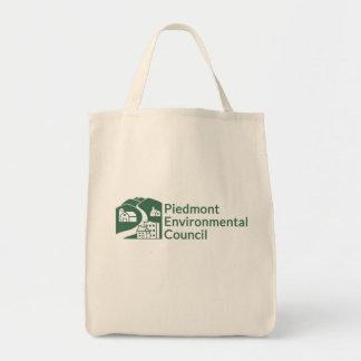 PEC Grocery Tote Bag - Green Logo