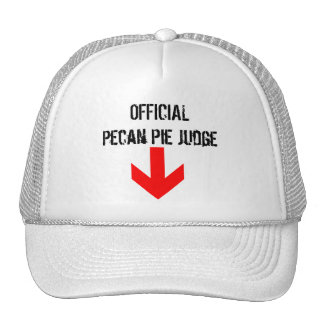 Pecan Pie Judge Trucker Hat