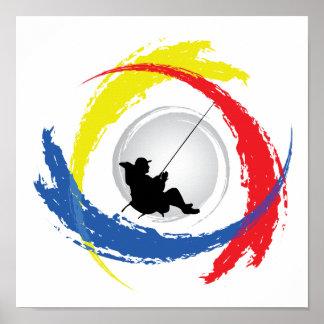 Pêche de l'emblème tricolore