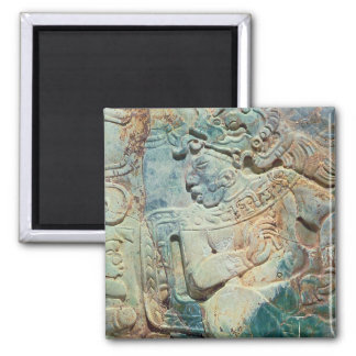 Pectoral of the King and a courtier from Tikal Refrigerator Magnets