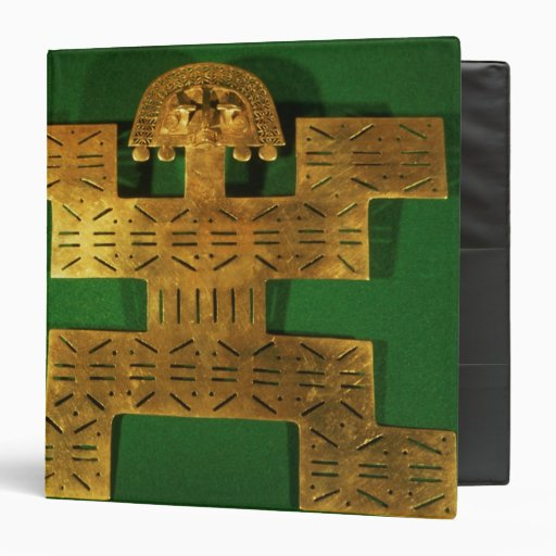 Pectoral ornament of the Tolima Region 3 Ring Binders