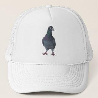Peculiar dove trucker hat