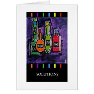 PedagogyGreeting Cards: Solutions Card