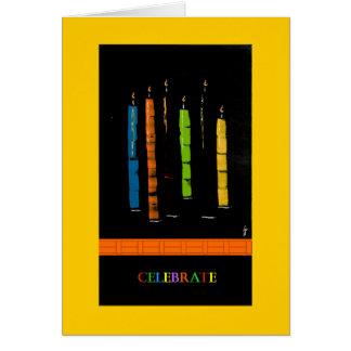 PedagogyGreetings Card: Candles Card