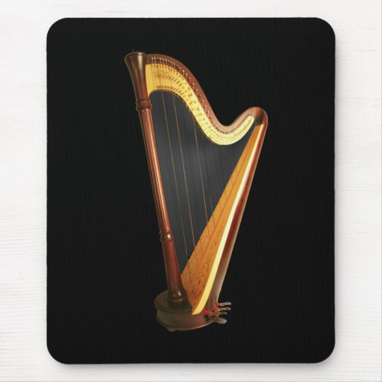 Pedal Harp Mouse Pad