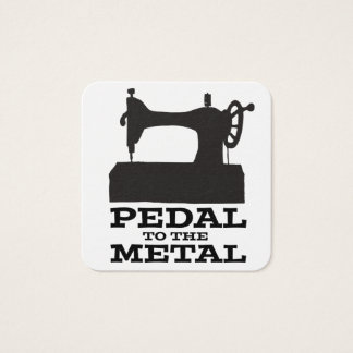 Pedal to the Medal Square Card