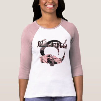 Pedal to the Metal Dirt Modified Pink Shirts