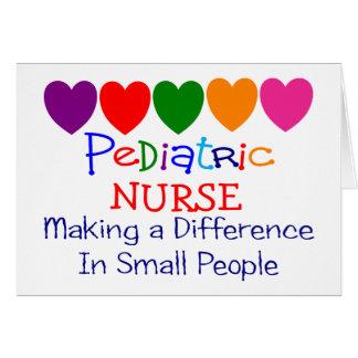 Pediatric Nurse Gifts Greeting Card