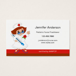 Pediatric Nurse Practioner Business Card