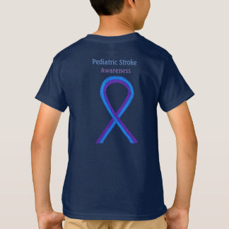 Pediatric Stroke Awareness Ribbon Customized Shirt