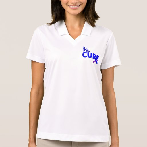 Pediatric Stroke Fight For A Cure Polo Shirt