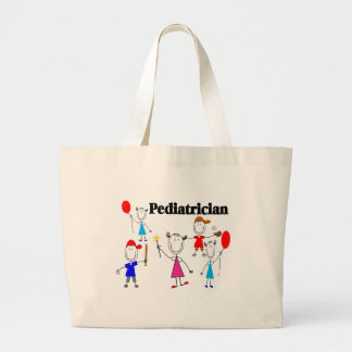 Pediatrician Gifts Kids Stickpeople Designs Jumbo Tote Bag