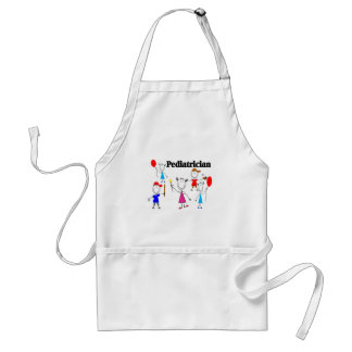 Pediatrician Gifts Kids Stickpeople Designs Standard Apron