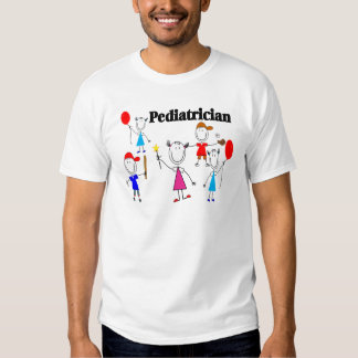 Pediatrician Gifts Kids Stickpeople Designs T-shirts