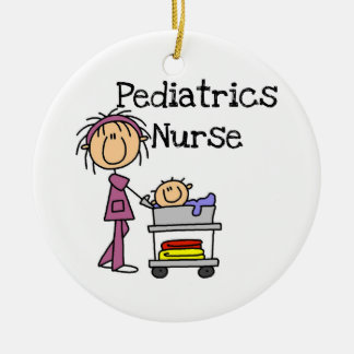 Pediatrics Nurse Tshirts and Gifts Ceramic Ornament