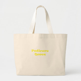 Pedicure Queen Jumbo Tote Bag