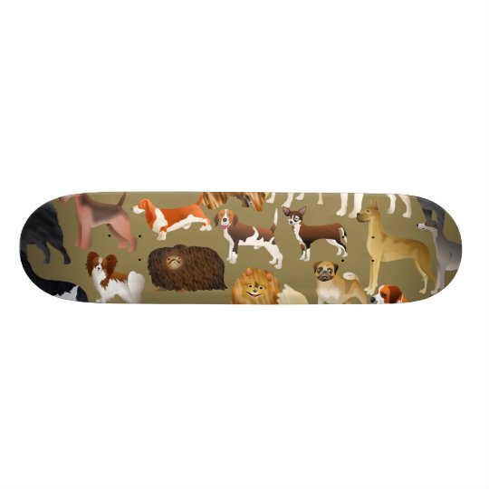 Pedigree Dog Wallpaper Custom Skateboard