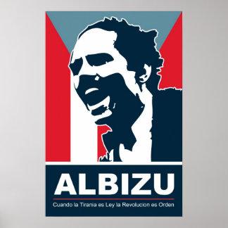 Pedro Albizu Campos - Bandera Poster