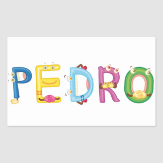 Pedro Sticker