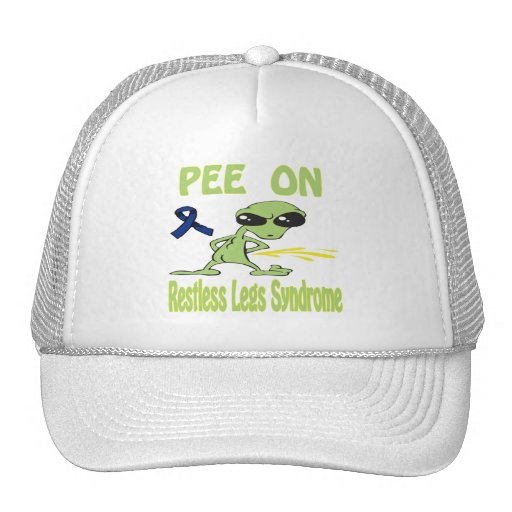 Pee On Restless Legs Syndrome Hat