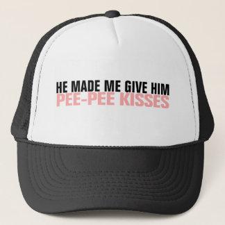 PEE PEE KISSES TRUCKER HAT