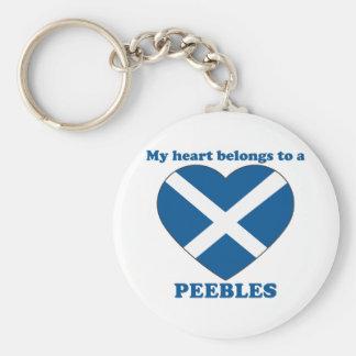 Peebles Key Chains