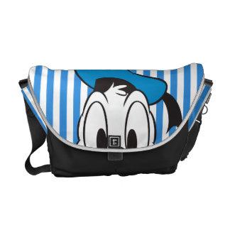 Peek-a-Boo Donald Duck Courier Bags