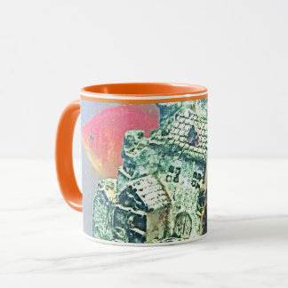 peek a boo Fish mug