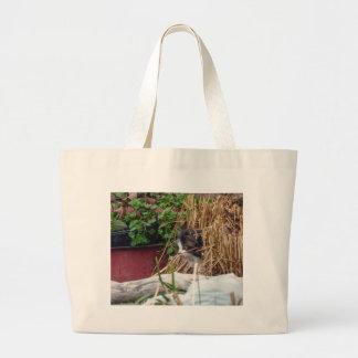 Peek-a-Boo Large Tote Bag