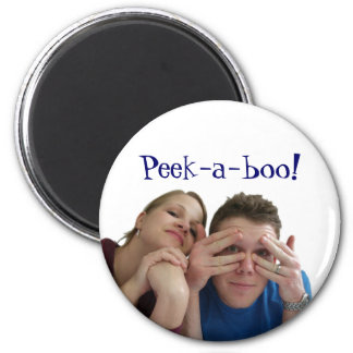Peek-a-boo! Magnet