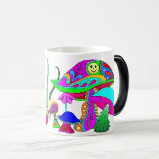 Peek-A-Boo Mushrooms Magic Mug