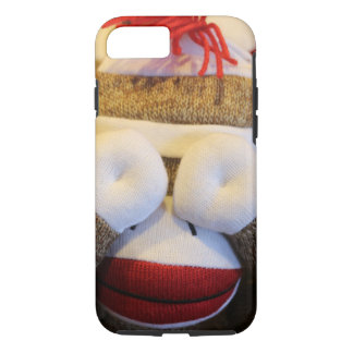 Peek-a-boo Sock Monkey iPhone 7 Case