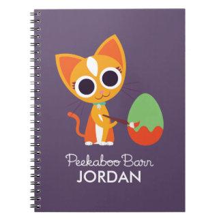 Peekaboo Barn Easter | Purrl the Cat Notebooks