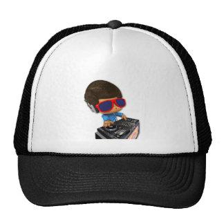 Peekaboo DJ afro Trucker Hat