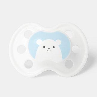 Peekaboo Polar Bear Baby Pacifier