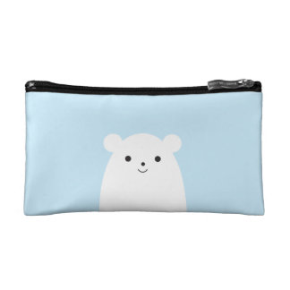 Peekaboo Polar Bear Cosmetic Bag