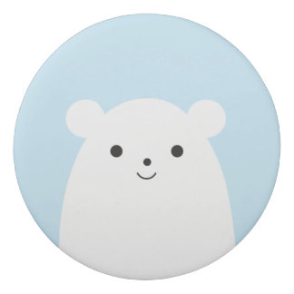 Peekaboo Polar Bear Eraser