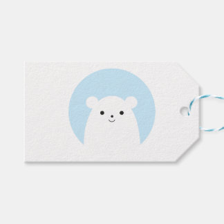 Peekaboo Polar Bear Gift Tags