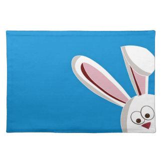 Peeking Bunny Placemat